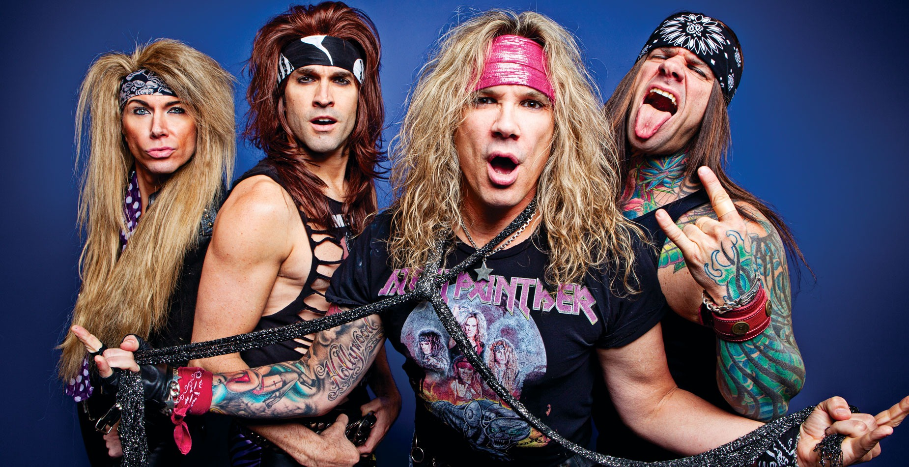 STEEL PANTHER de passage en France