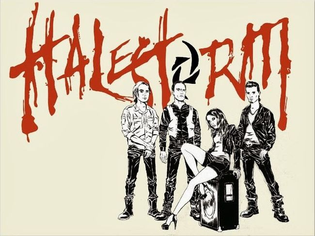 Halestorm – ReAniMate 2.0: The CoVeRs EP