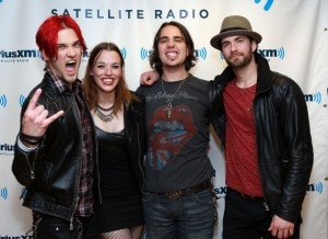 Celebrities Visit SiriusXM Studios - April 30, 2013