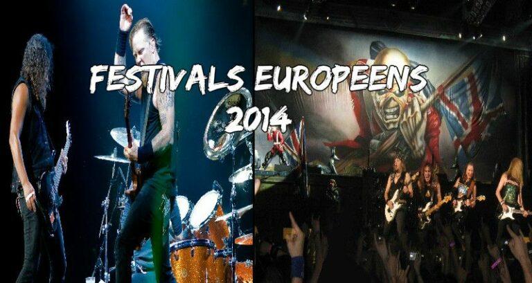 Festivals européens 2014: Faites votre choix !