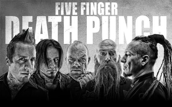FIVE FINGER DEATH PUNCH: Clip « House of The Rising Sun »