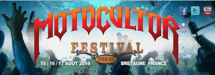 Motocultor Festival 2014 : l'affiche finale