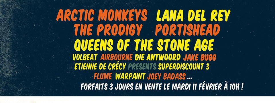 ROCK EN SEINE 2014: Premiers groupes annoncés