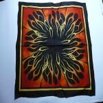 bandana flammes ref 14001