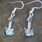 boucles d'oreille guitares ref 16001