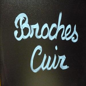 broches cuir - Rock metal mag