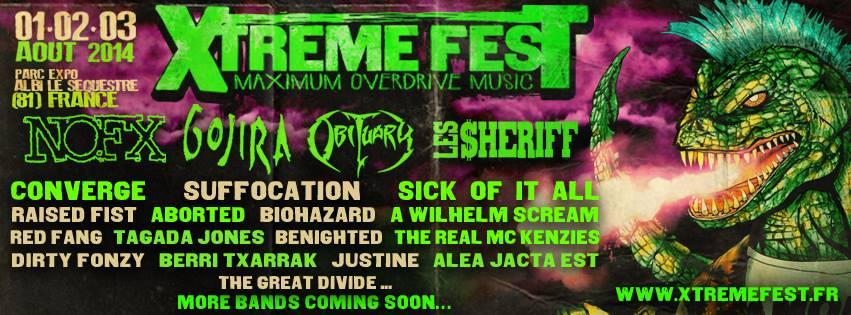 XTREME Fest: Nouvelle annonce