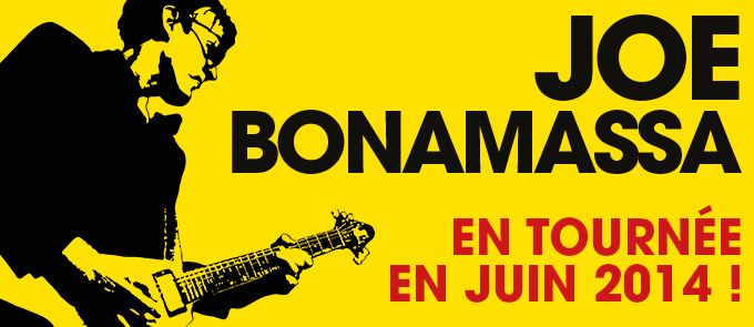 Joe Bonamassa en France en juin !