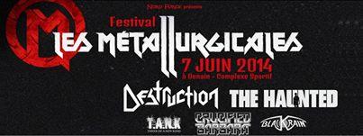 Festival: LES METALLURGICALES 2014 à Denain