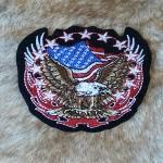 patch aigle et drapeau USA ref 12008