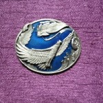 pin's aigle en vol ref 13003