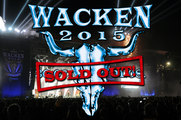 Wacken Open Air Festival 2015: Déjà Sold Out