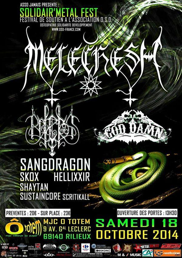 Solidair'Metal Fest à Lyon