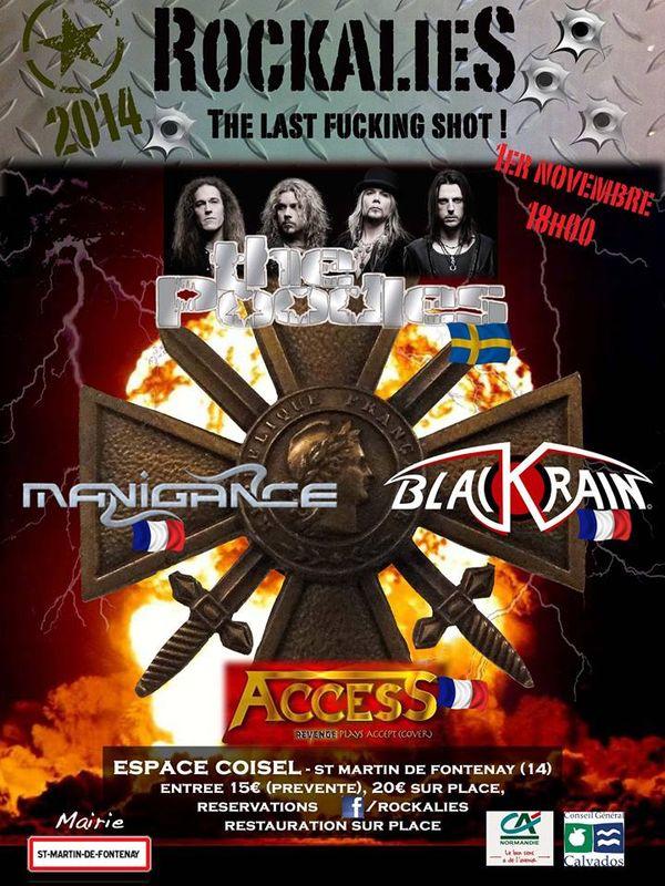 ROCKALIES 2014: Dernière édition