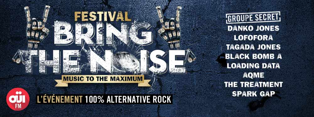 Festival BRING THE NOISE 2014: Programmation