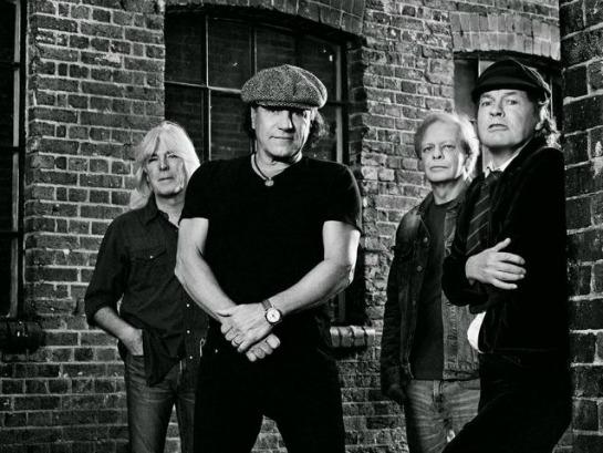 AC/DC en concert à Marseille