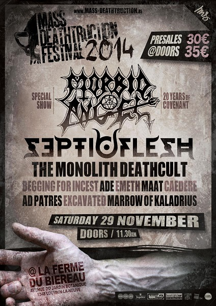 Mass Deathtruction Festival 2014