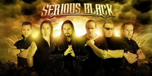 SERIOUS BLACK: Premier album pour 2015