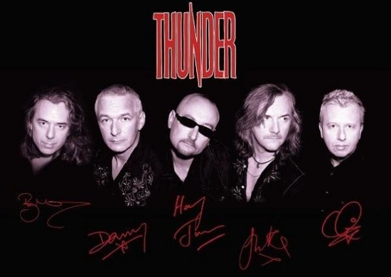 THUNDER NOUVEL ALBUM