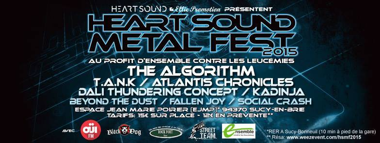 HEART SOUND METAL FEST: Affiche dévoilée