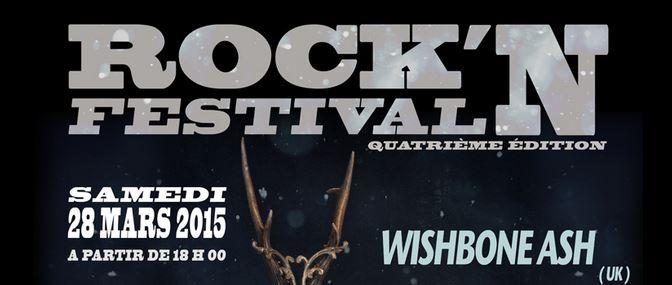 ROCK'N FESTIVAL: Découvrez l'affiche