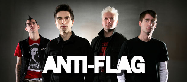 ANTI FLAG en concert à Paris