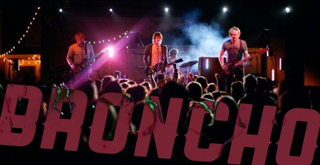 BRONCHO en concert