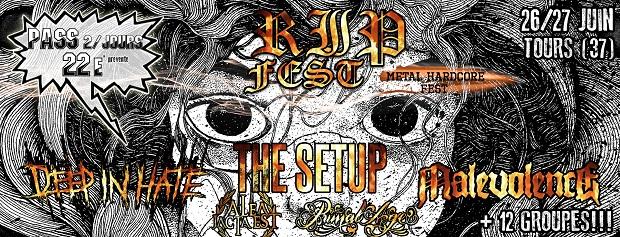 RIIP Fest – 1ère édition