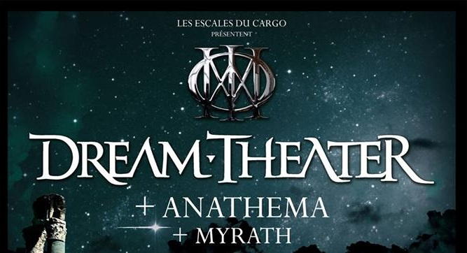 DREAM THEATER + ANATHEMA + MYRATH en concert