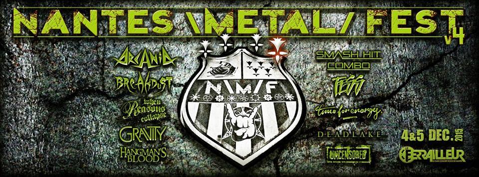 Nantes Metal Fest en décembre