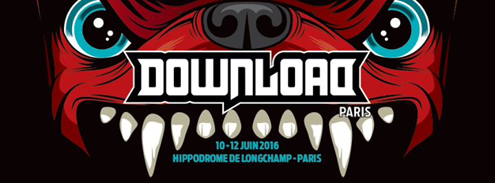 DOWNLOAD FESTIVAL FRANCE: Nouveaux noms