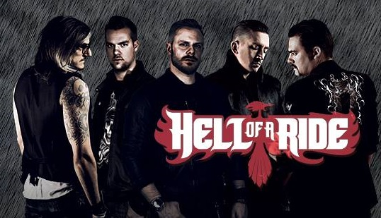 HELL OF A RIDE  Live Report