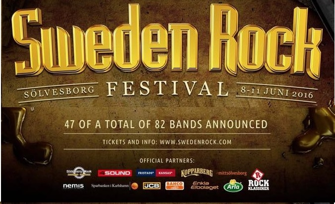 SWEDEN ROCK FESTIVAL news
