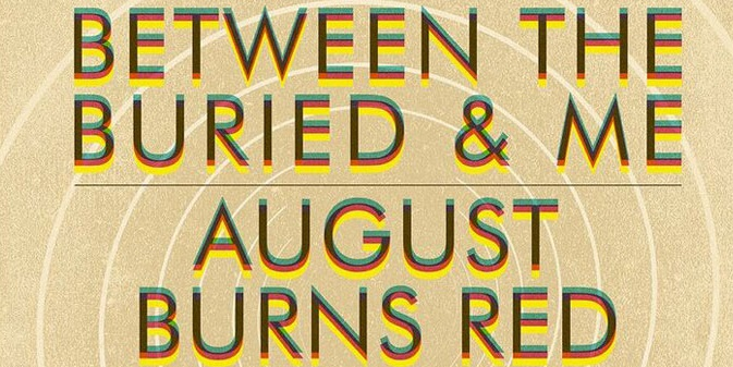 BETWEEN THE BURIED & ME/ AUGUST BURNS RED en tournée américaine