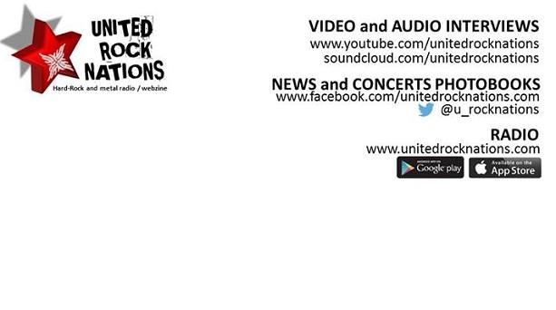 UNITED ROCK NATIONS Teaser du nouveau site