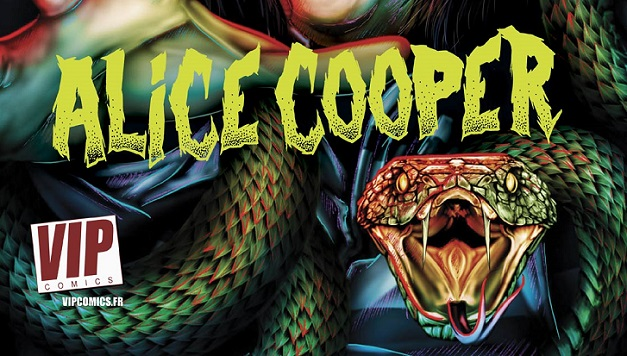 ALICE COOPER : sa vraie-fausse biographie en B.D.