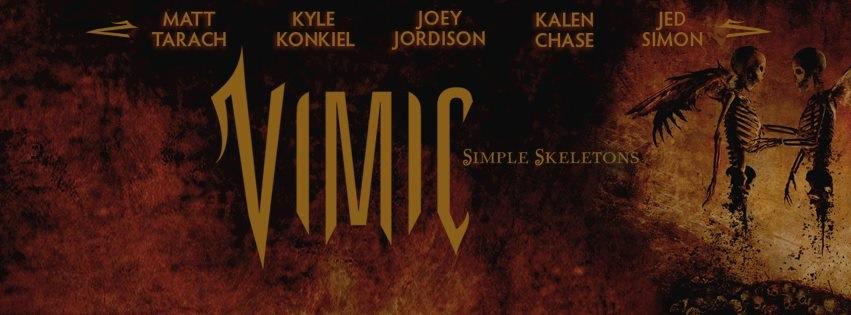 VIMIC : Nouveau groupe de Joey Jordison