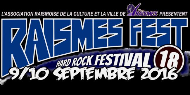 Le RAISMES FEST 2016 c'est dans 79 jours!!!