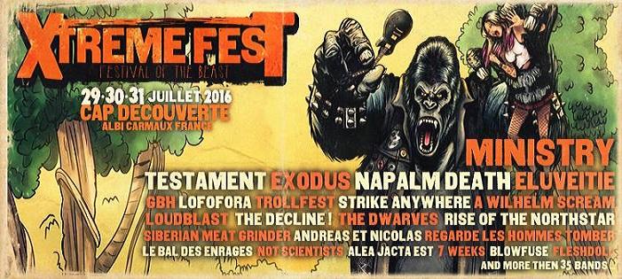 XTREME FEST 2016 le week-end prochain