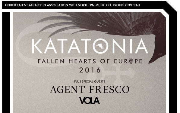 AGENT FRESCO & VOLA en support de KATATONIA