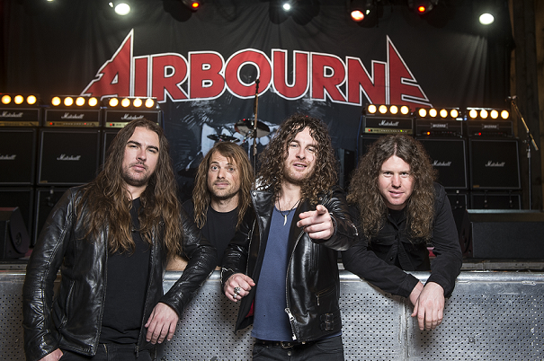 AIRBOURNE 12ème place du Top Album