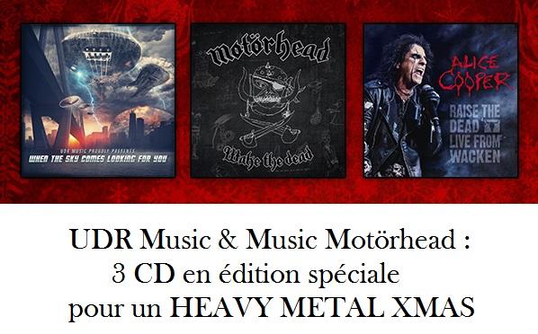 UDR Music & Music Motorhead news