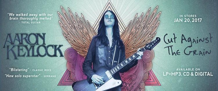 Aaron KEYLOCK nouveau guitar hero