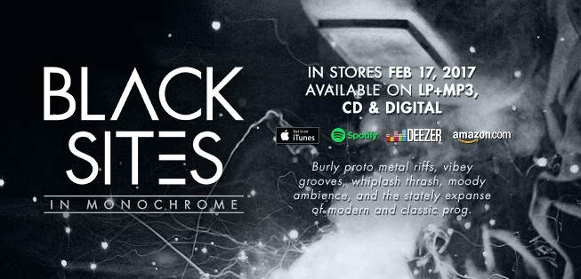 BLACK SITES nouveau label et premier album