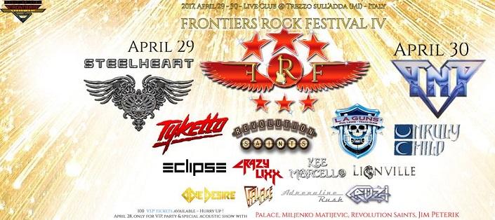 Frontiers Rock Festival 4ème édition