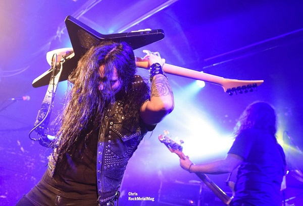 FIREWIND + MANIMAL + SCAR OF THE SUN Live Report