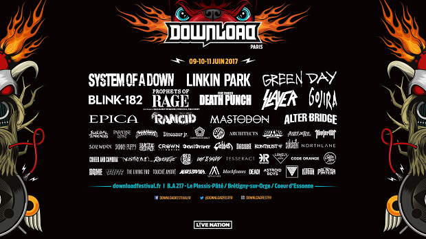 Download Festival news