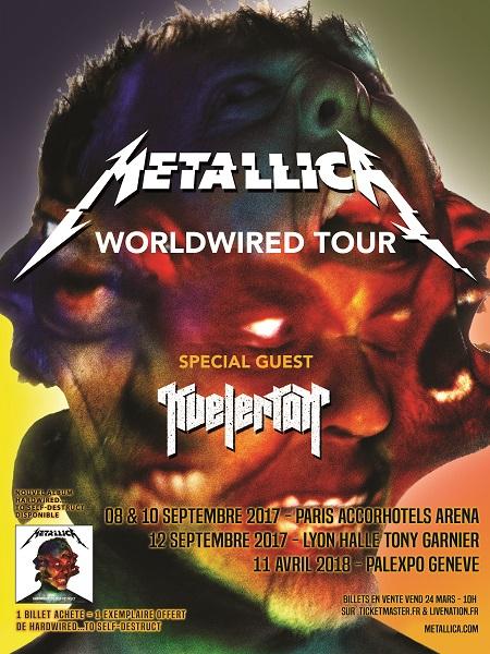 Metallica w Kvelertak tour