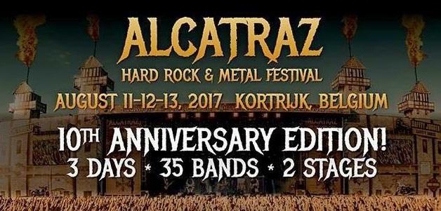 ALCATRAZ Festival : Nouveau nom en tête d'affiche