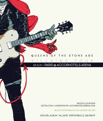 QOTSA Queen of the stone age paris